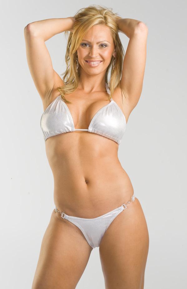Shiny bikini
