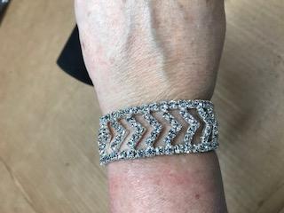 B25 Crystal Rhinestone Stretch Bracelet
