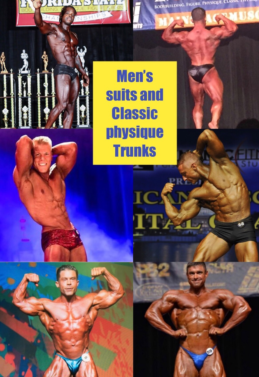 Men's Suits and Classic Physique Trunks