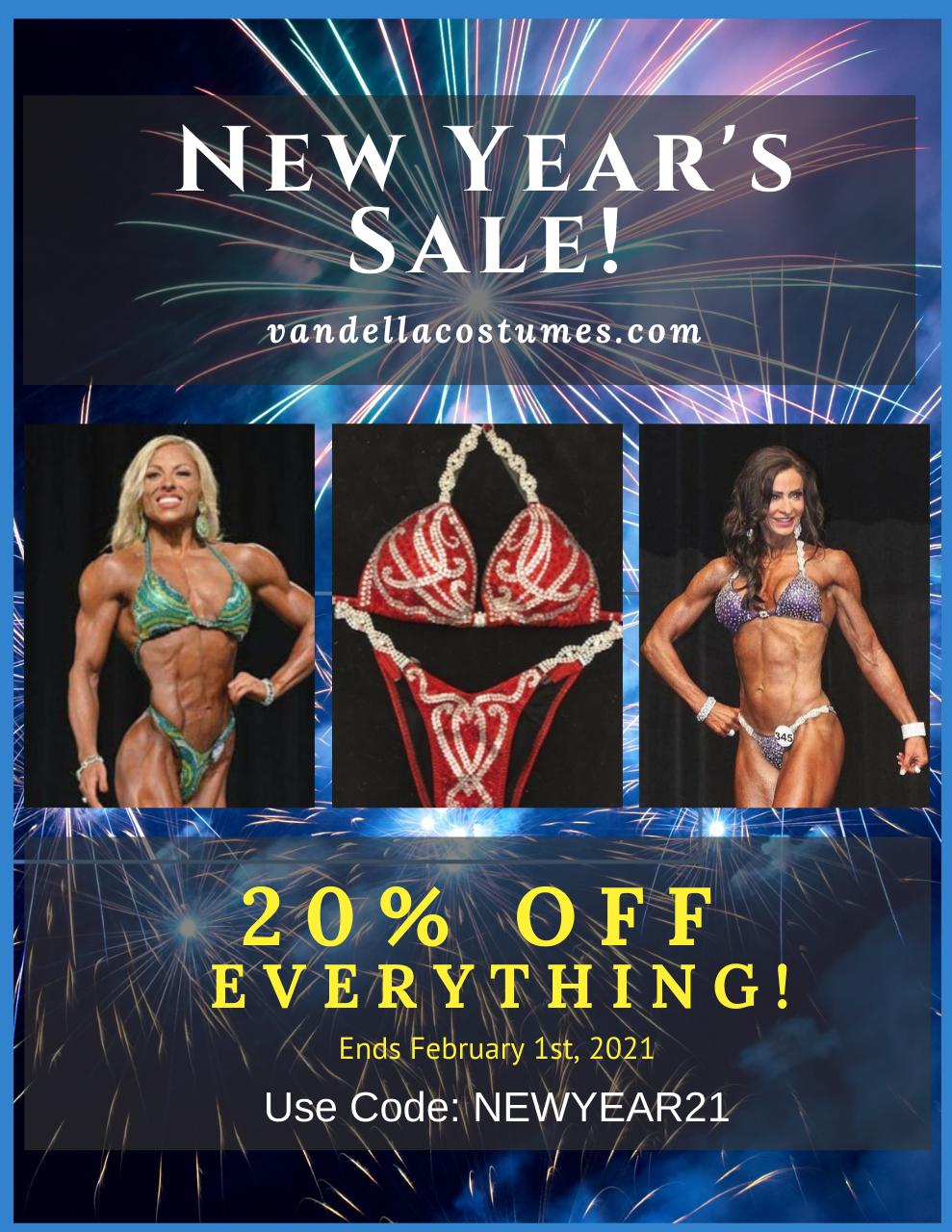 Competition Bikini Sale | Happy New Year 2021